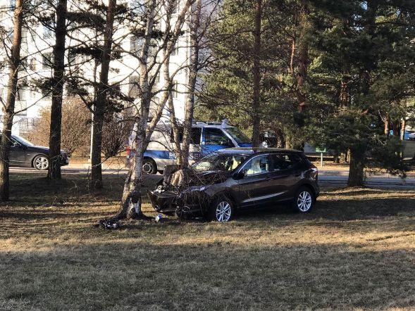 Liiklusõnnetus Haabneemes