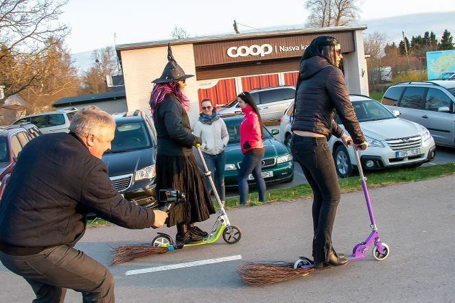 Volbriöö ja nõiaralli Saaremaal