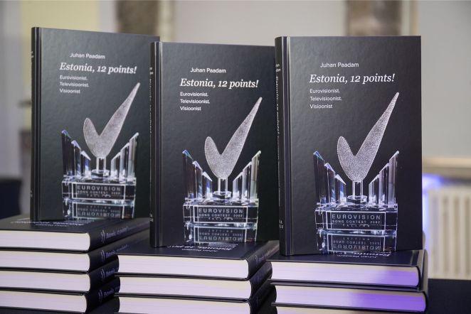 """Juhan Paadami raamatu """"Estonia 12 points!"""" esitlus"""
