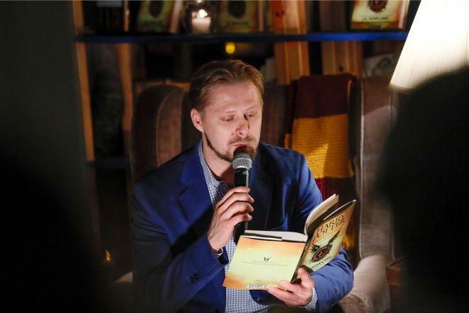 Harry Potteri eestikeelse raamatu esitlus