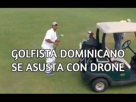 VIDEO: Mees ehmatab drooni peale ära