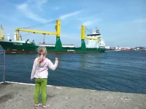 VIDEO: Usk inimkonna headusse taastatud! Laevale lehvitav tüdruk on lootust kaotamas, kuni juhtub midagi erakordselt lahedat