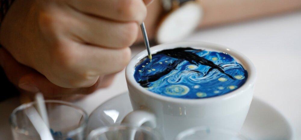 2018 kohvitrendid: superkohvist värviliste <em>latte'</em>deni