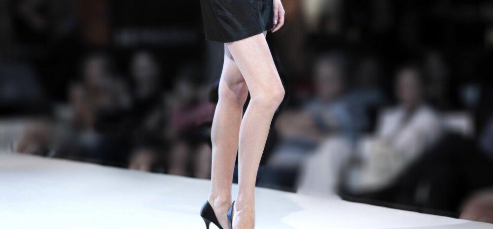 GALERII: Downi südroomiga modell kõnnib Londoni Moenädala laval