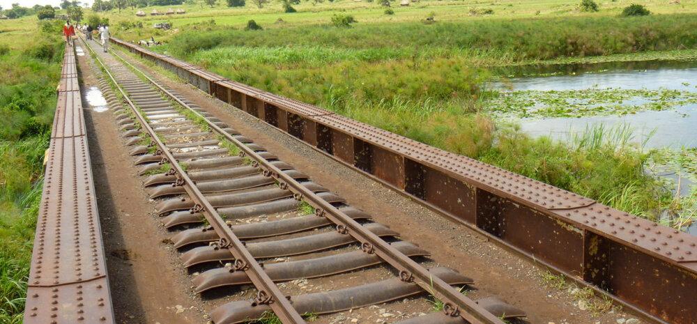 """Keenia avas esimese raudtee pärast 1901. aasta """"kuutõbiste ekspressi"""""""