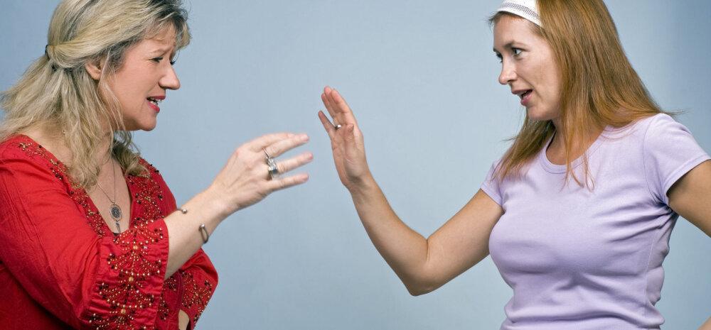 Naise kannatus hakkab katkema: kas ja kui kaua võib ema oma tütrele halvasti öelda?