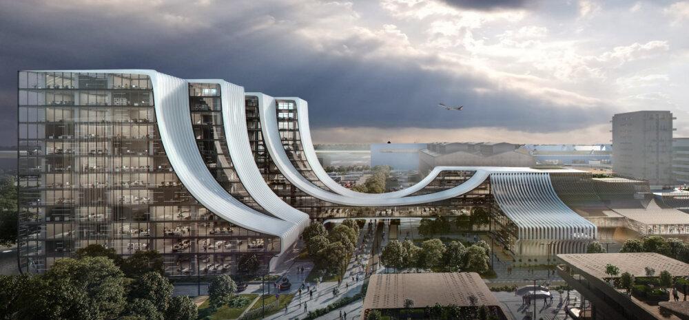 ГАЛЕРЕЯ │ Смотрите, каким представляют себе будущий бизнес-городок Ülemiste City ведущие архитекторы