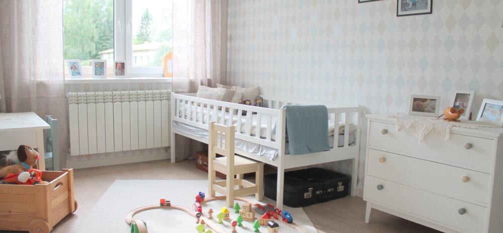 """""""MEIE KODU 2018""""   Helge ja põhjamaine lastetuba nõukaaegses paneelmajas"""