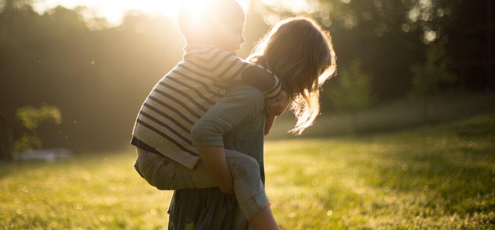 Tahad, et sinu laps kasvaks üles õnnelikuna? Siin on kuus soovitust, kuidas seda ilma raha kulutamata saavutada
