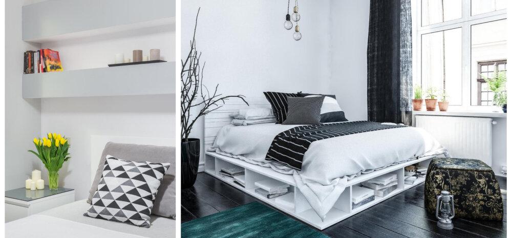 FOTOD │ Vaata lahedaid ideid, kuidas magamistoas asju hoiustada