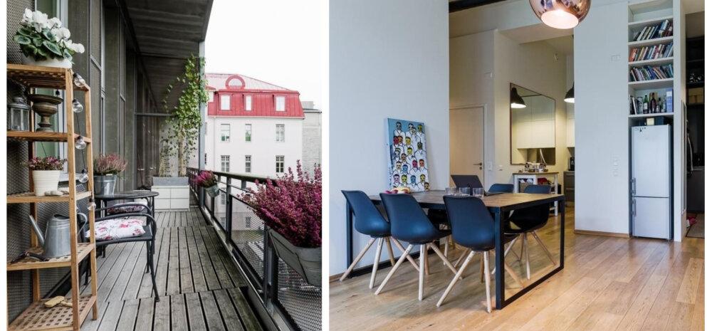 FOTOD   Isikupärane kodu endises Tallinna telefonikeskjaamas