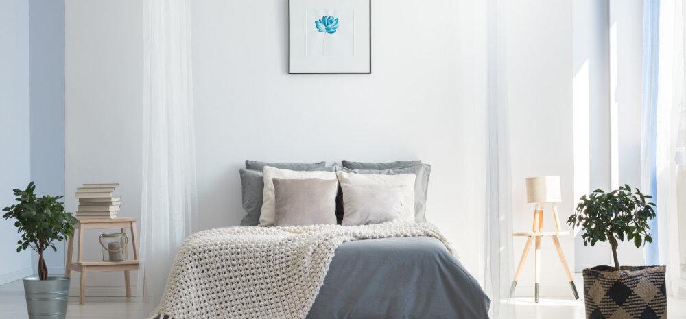 Neli suurimat viga, mida sisekujundajad magamistoas vältida soovitavad