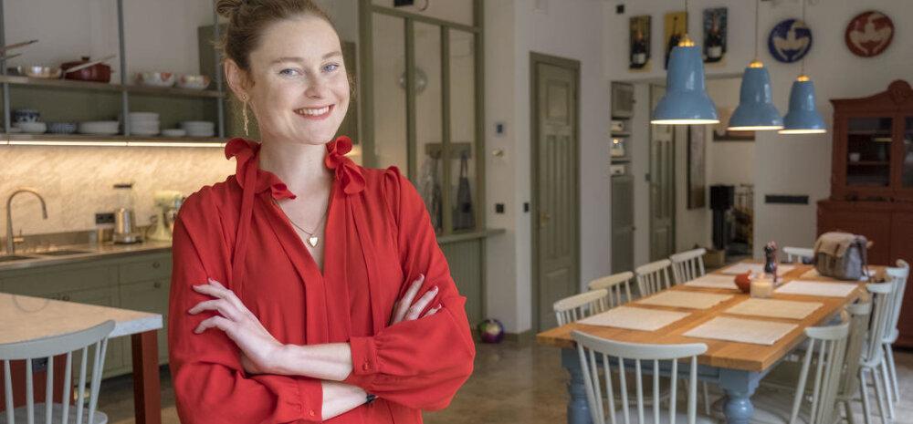 ГАЛЕРЕЯ │ Известный эстонский повар Анни Арро открыла кухню-студию