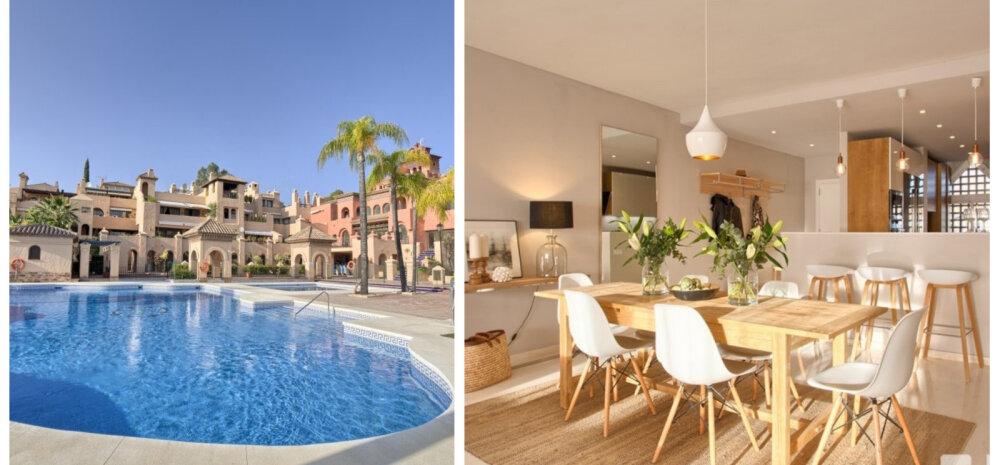 FOTOD │ Vaata skandinaavialikus võtmes kujundatud luksuskorterit Marbellas