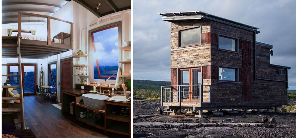 ФОТО   Необычный домик, построенный на крупнейшем в мире действующем вулкане