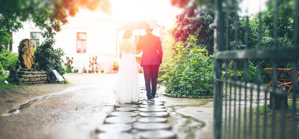 8 sammu, kuidas pulmapidu stressivabalt organiseerida