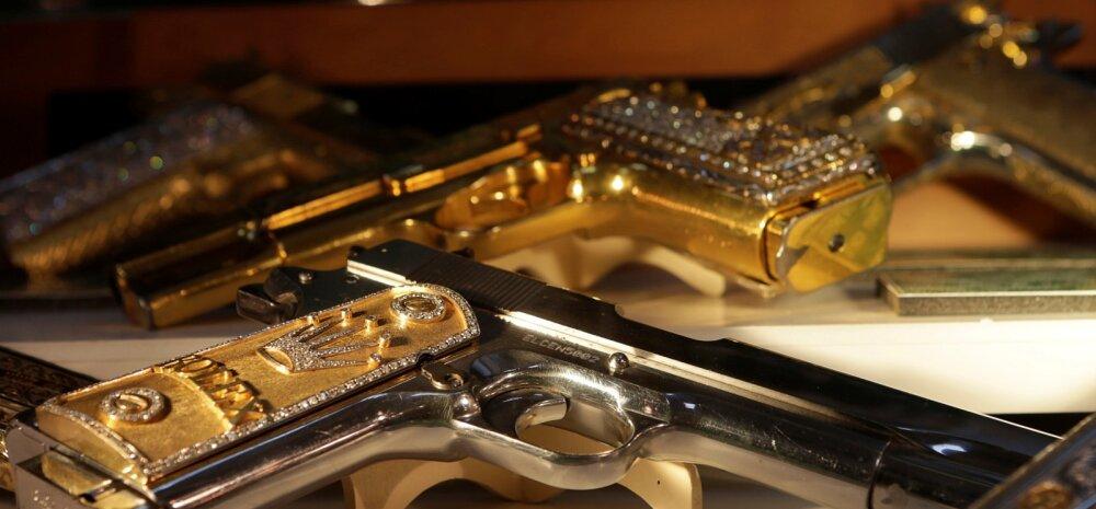 Kas tõesti on kullast ja hõbedast otstarbekas relvi valmistada?