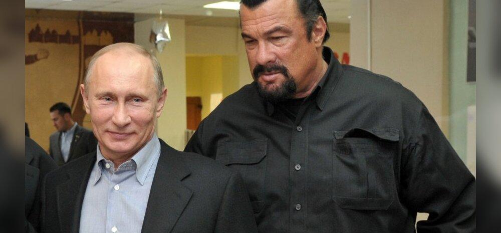 Vladimir Putin ja Steven Seagal