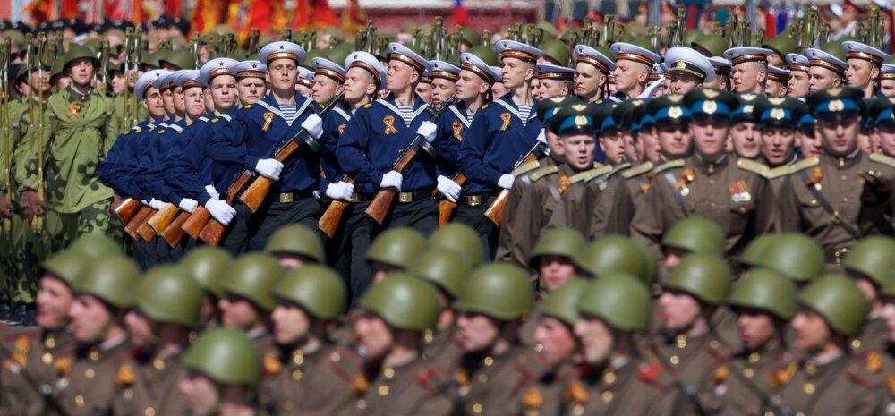 Venemaa tähistas võidupüha meeletu paraadiga
