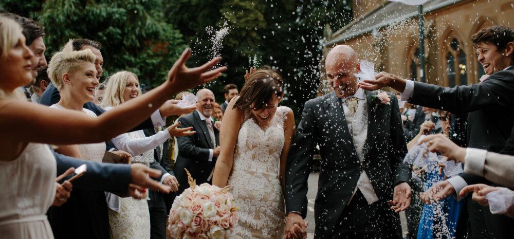 Nõuanded külalistele: mida teha, et pulmaskäik ei viiks pankrotti?