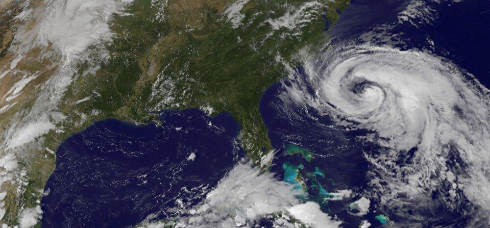 Orkaan Maria läheneb USA rannikule