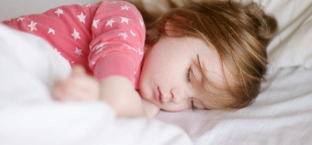 Miks laps öösel voodisse pissib?