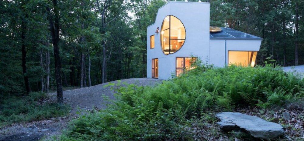 Kodu kui meistriteos — moodne ökomaja keset metsa