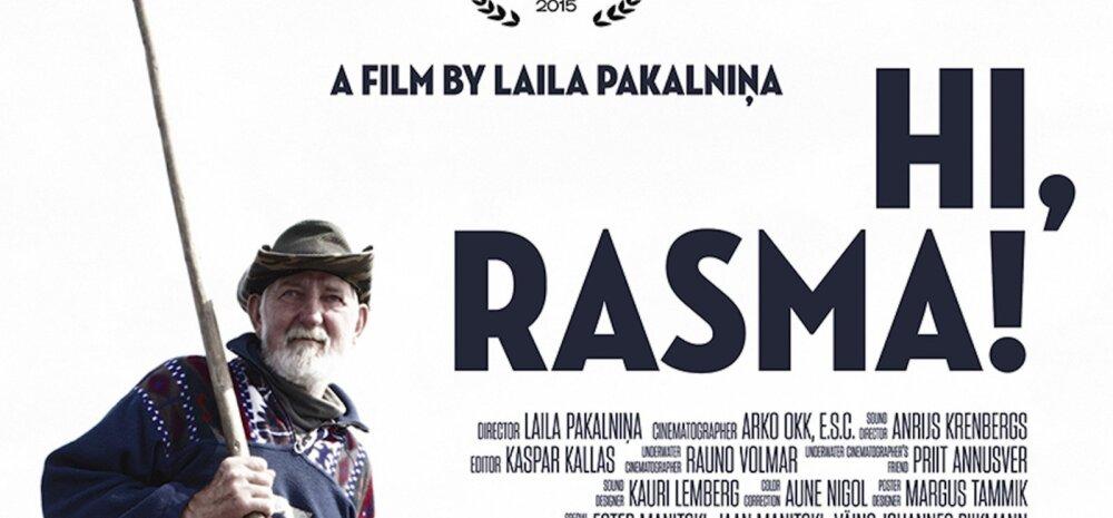 """Eesti-Läti-Leedu ühistööna valminud eestikeelse dokumentaalfilmi """"Hei, Rasma!"""" maailmaesilinastus toimub Šveitsi"""