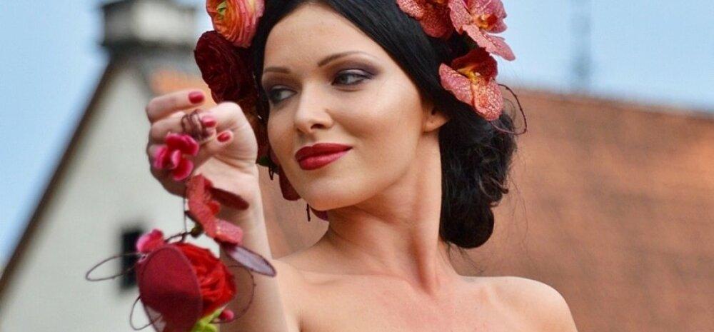ФОТО читателя Delfi: Женщины-цветы в Старом Таллинне