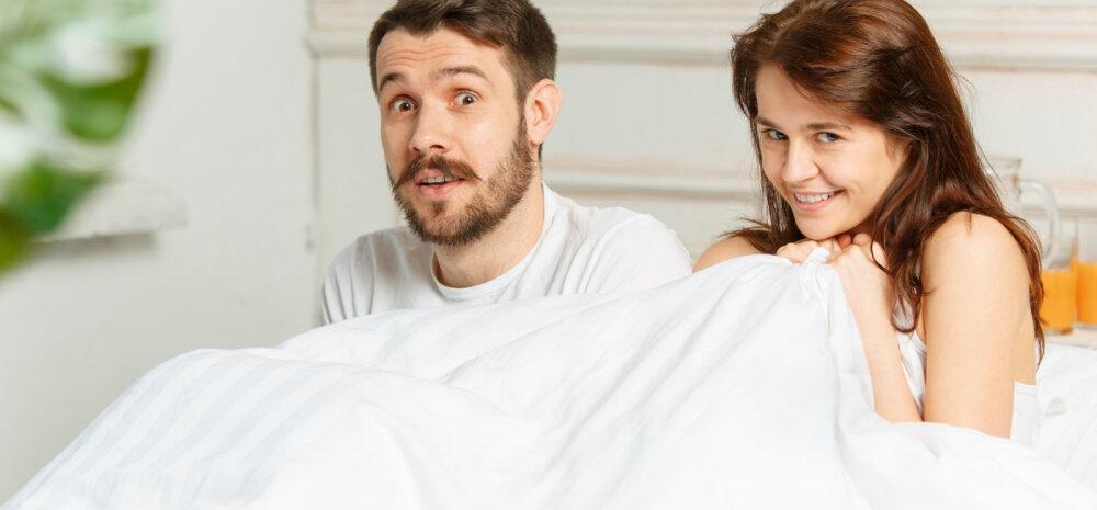 Kas sina seksisid täna hommikul?