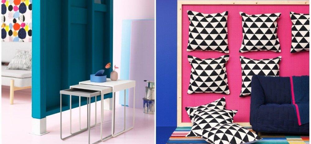 IKEA moodsa joonega veebruarikollektsioon lisab argipäeva värvi!