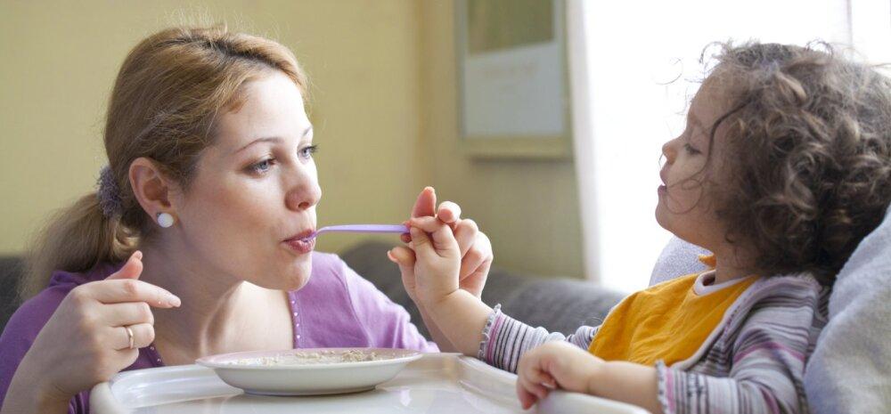 Kuidas tutvustada lapsele uusi toite?