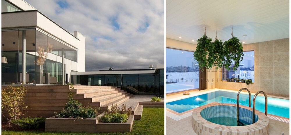 ФОТО | Эстонские частные дома с роскошной зоной СПА