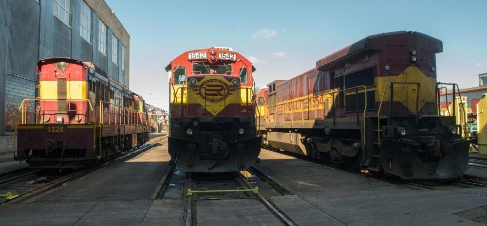 Raudteeoperaator EVR Cargo plaanib Venemaale tütarfirma loomist