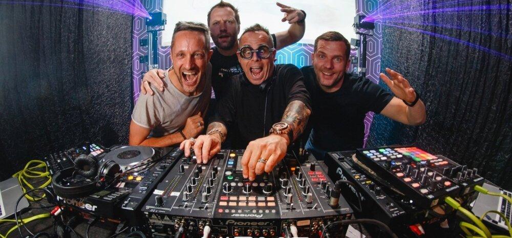 HIRMO FAKTOR LIVE: THE CUBE GUYS (ITA)