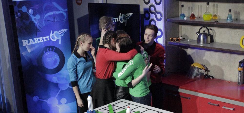 """VIDEO: """"Rakett 69"""" saatest lahkus Hannaliina: matemaatika on minu ala, ma oleksin pidanud võitma"""