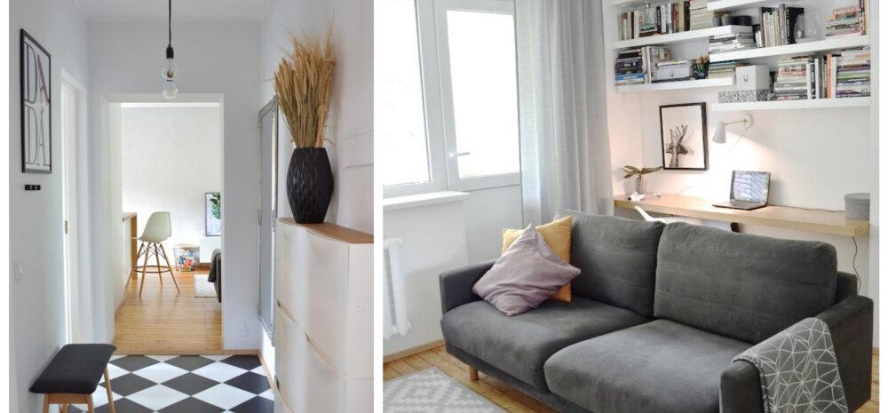 """""""MEIE KODU 2018"""" │ Helgeks ja valgeks renoveeritud kodu Sakus"""