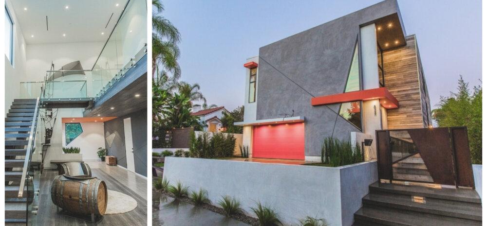 ФОТО | Вот это геометрия! Необычный дом с ломаными линиями