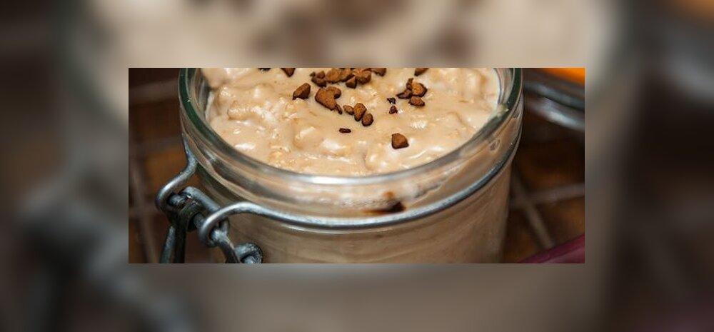 RETSEPT   Täna on <em>cappuccino</em>-päev! Midagi kohviarmastajatele — <em>cappuccino</em> kaerahelbepuder