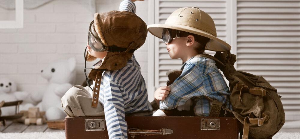 Et reis ei lõppeks sadamas või lennujaamas, tee lastega reisides dokumendid korda