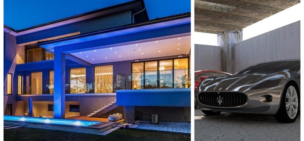 ФОТО | Крупнейший дом в Эстонии и Maserati — смотрите, кто выставил на продажу свои богатства