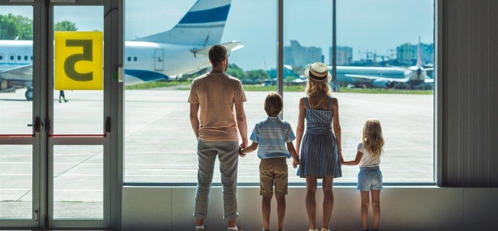 Et reis ei lõppeks juba lennujaamas, tee oma pere reisidokumendid õigeaegselt korda.