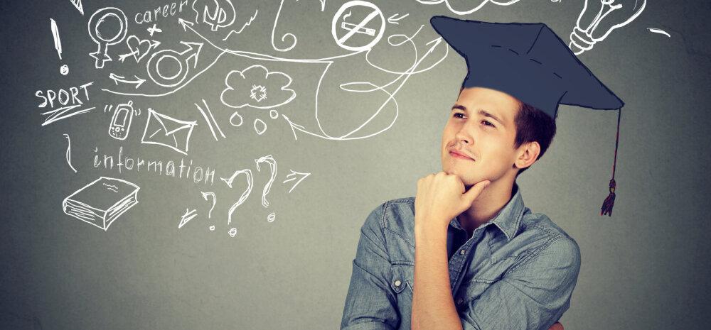 ARVAMUS   Abiturient: Julgen otsida vastuseid enda seest ja valida eriala, mis pole ühiskonna arvates tasuv