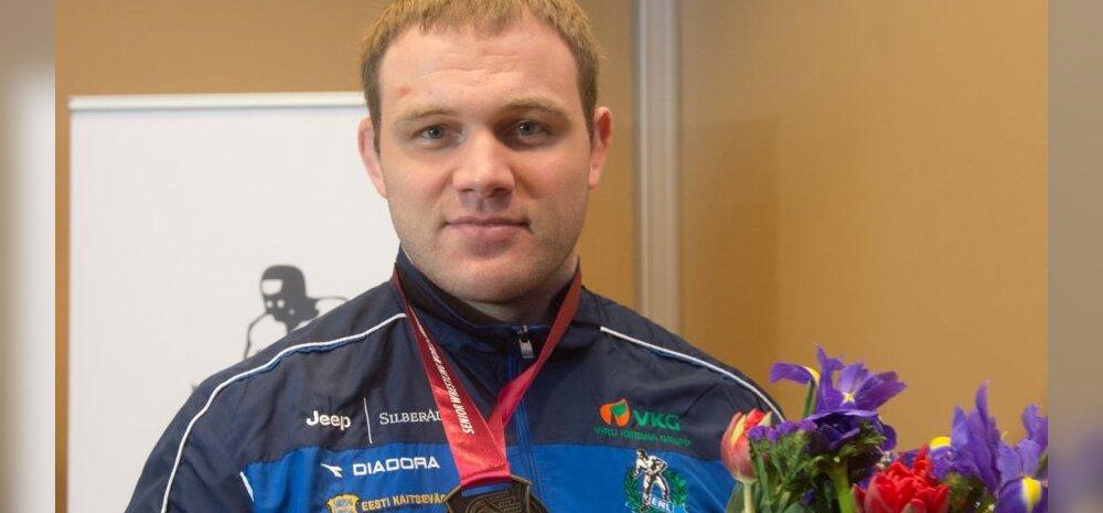 Heiki Nabi sai kätte 2013. aasta maailmameistri kuldmedali