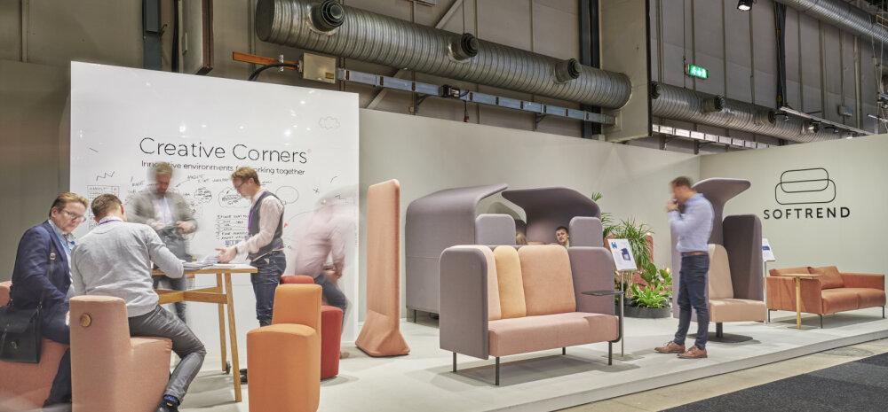 Softrend esitleb Stockholmi mööblimessil uudset Loovnurka
