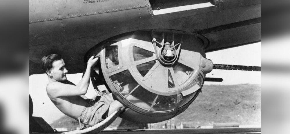 Selline kerakujuline kahuritorn asetses Teises maailmasõjas USA pommitajate kõhu all