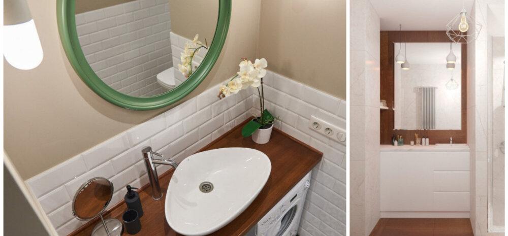 СОВЕТЫ │ Маленькая ванная: выбираем раковину