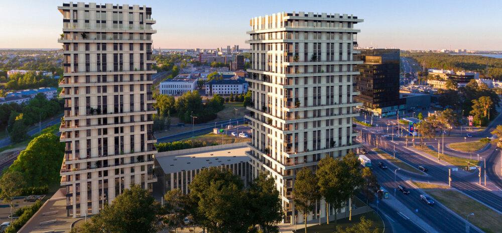 Как в кино! Городская квартира в самой уникальной высотке Таллинна