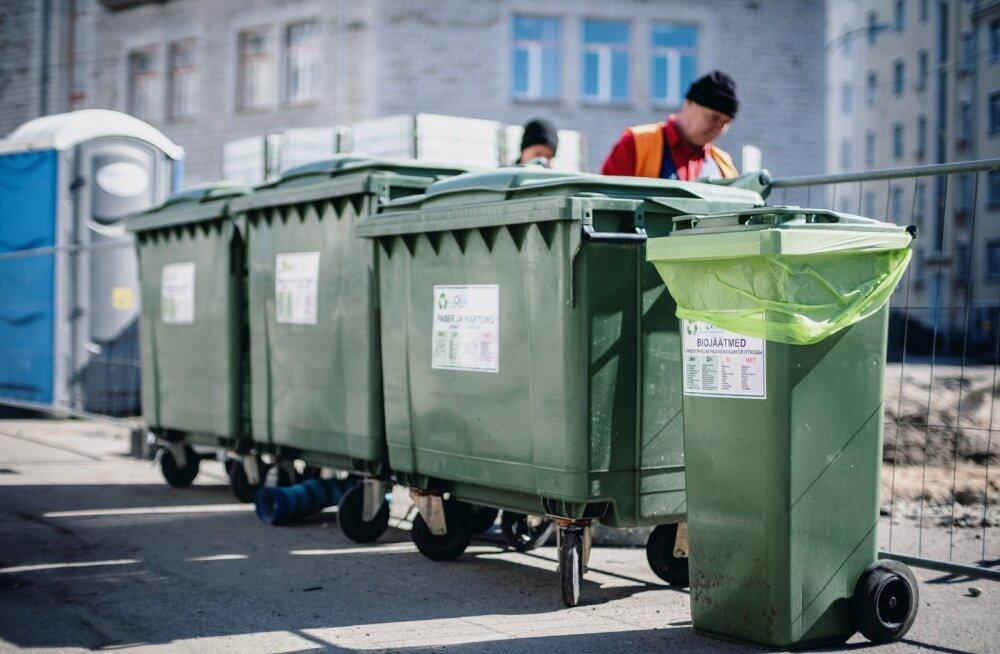 В Силламяэ поменяют систему сбора и утилизации отходов