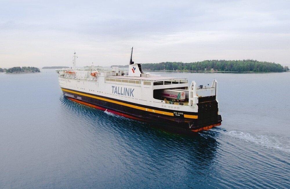 Tallinki kaubalaev Sea Wind
